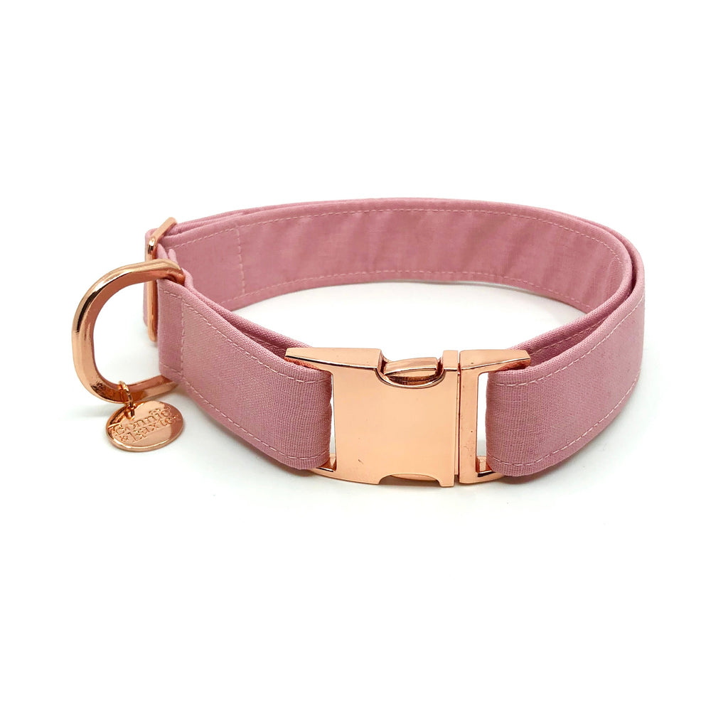 """Dusty Pink"" Collar"