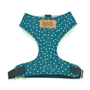 """Teal"" Chest Harness"