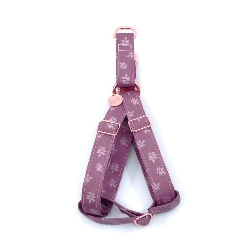 """Mauve"" Strap Harness"