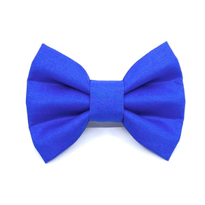 """Classic Blue"" Bow Tie / Sailor Bow"