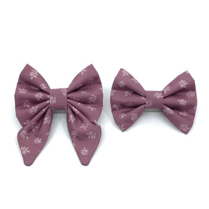 """Mauve"" Bow Tie / Sailor Bow"