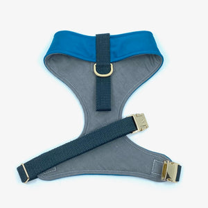 """Peacock Blue"" Chest Harness"