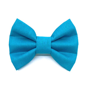 """Aqua"" Bow Tie / Sailor Bow"