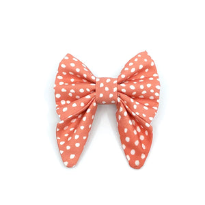 """Coral"" Bow Tie / Sailor Bow"