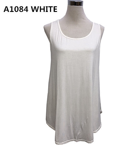 Over Body Tank Top Plain