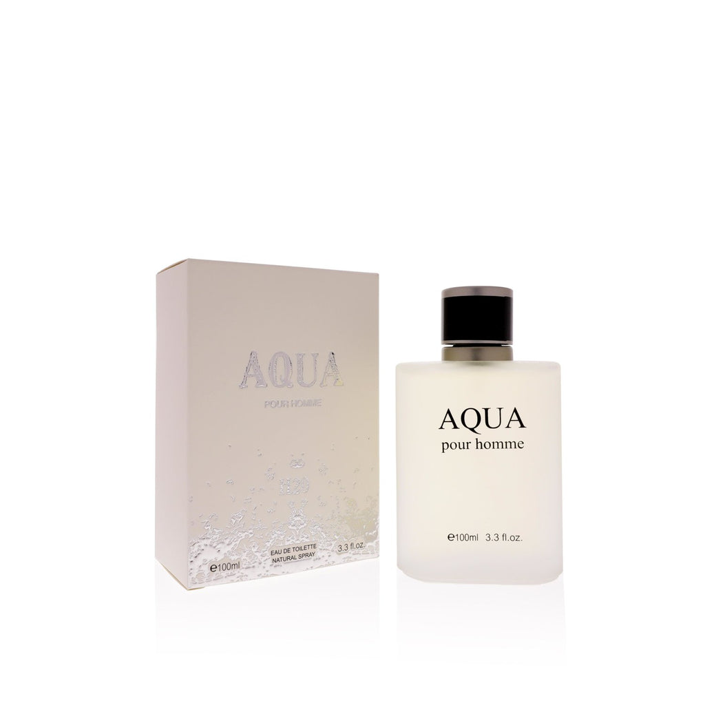 Aqua  Eau De Toilette Natural Spray Perfume 100ml 3.3oz Perfume