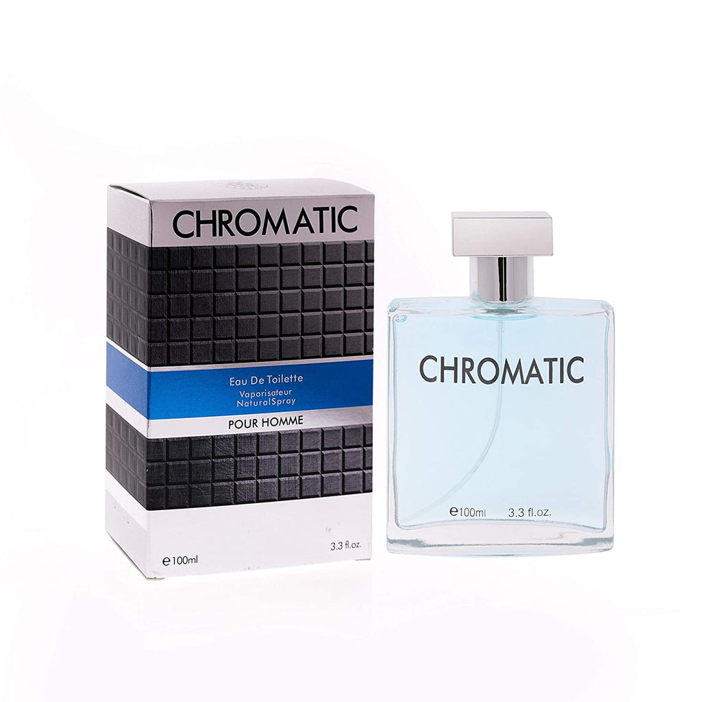 Chromatic Eau De Toilette Natural Spray Perfume 100ml 3.3fl.oz