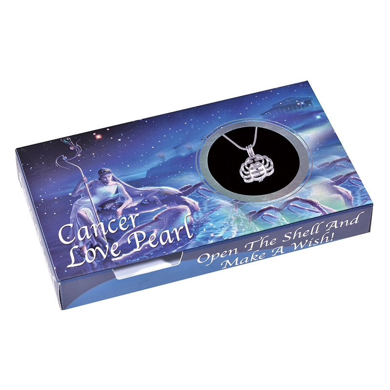 Cancer Love Pearl Creations Zodiac Wish Kit with Pendant Necklace