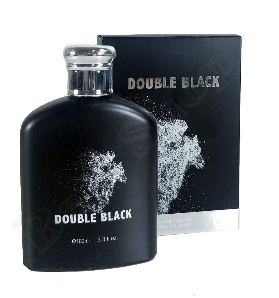 Double Black Eau De Toilette Natural Spray Perfume 100ml 3.3fl.oz