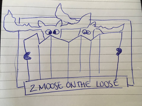 Moose Reading Map