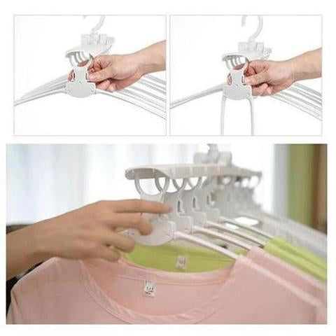 Bring a touch of magic to cupboards with this wonderful Magical Clothes Hanger