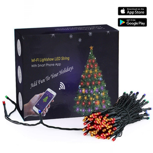 Smart tree lights - App Controlled Christmas Lights
