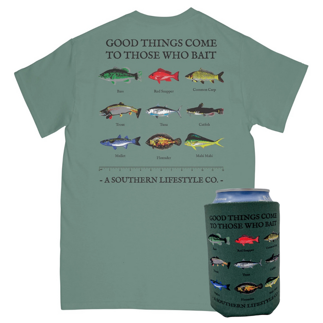 Those Who Bait Tee & Koozie - A Southern Lifestyle Co.
