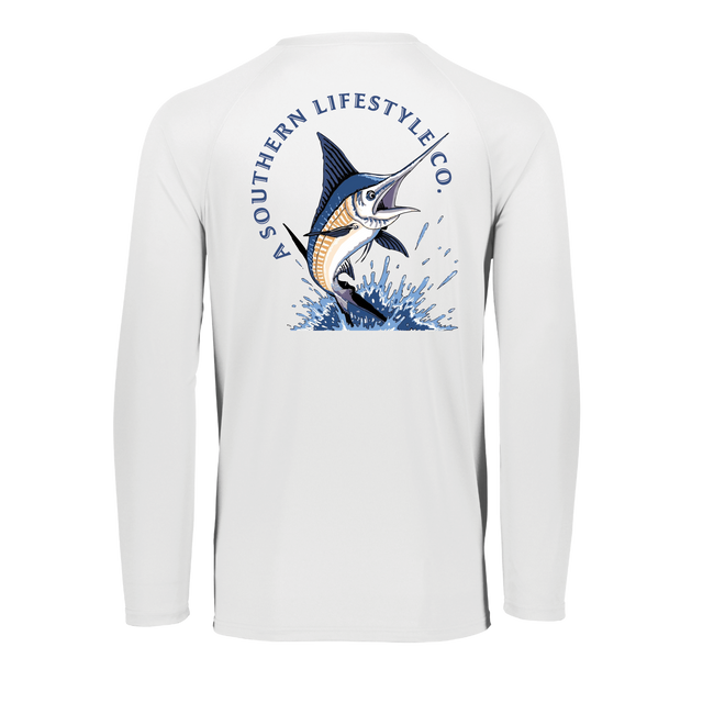 Marlin Performance Tee - A Southern Lifestyle Co.