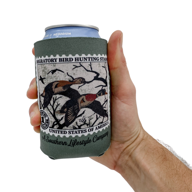 Duck Stamp Tee & Koozie - A Southern Lifestyle Co.