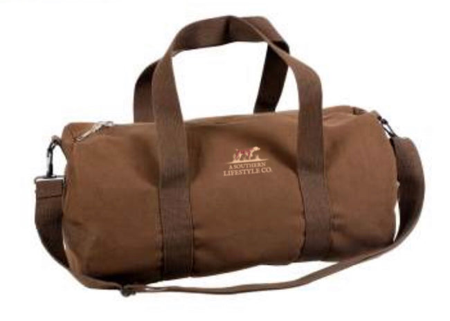 Mini Canvas Duffel Bag - A Southern Lifestyle Co.