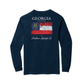 Georgia Proud - LS Tee - A Southern Lifestyle Co.