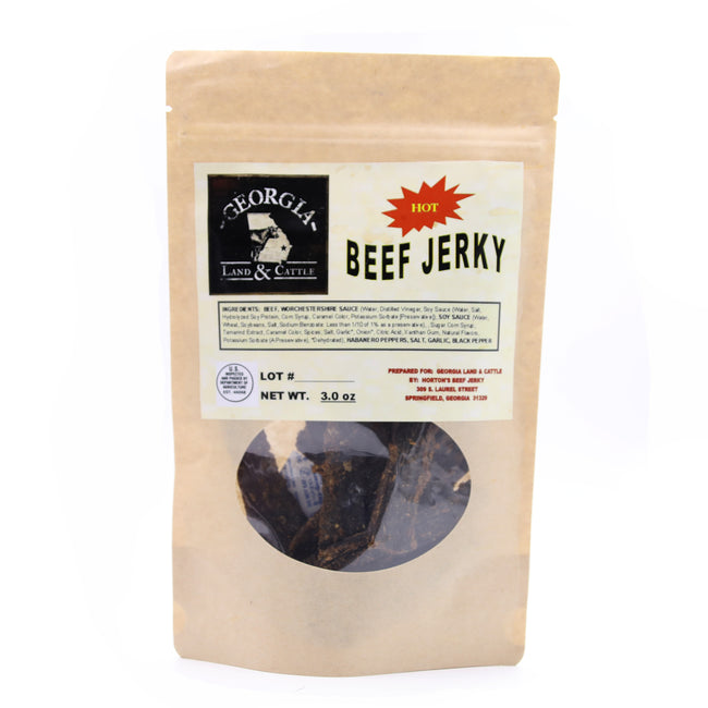 Hot Beef Jerky - A Southern Lifestyle Co.