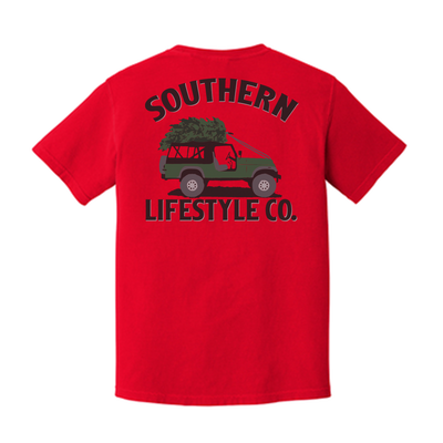 Holiday Cruisin Tee - A Southern Lifestyle Co.