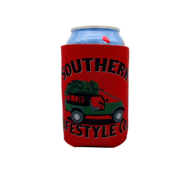 Holiday Cruisin Koozie - A Southern Lifestyle Co.
