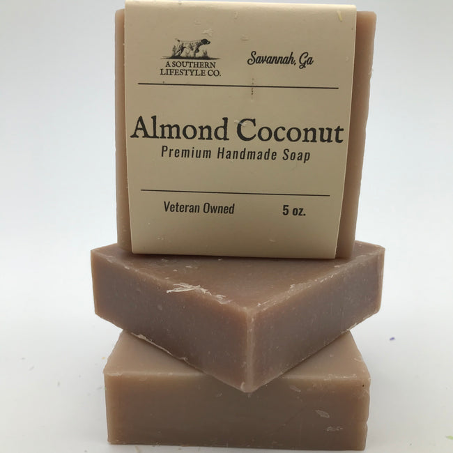 Almond Coconut Soap - A Southern Lifestyle Co.