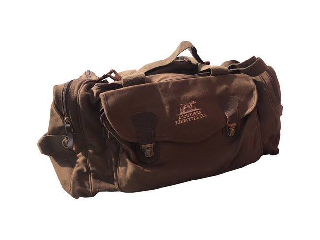 georgia-land-cattle - Canvas Utility Duffel Bag - Travel