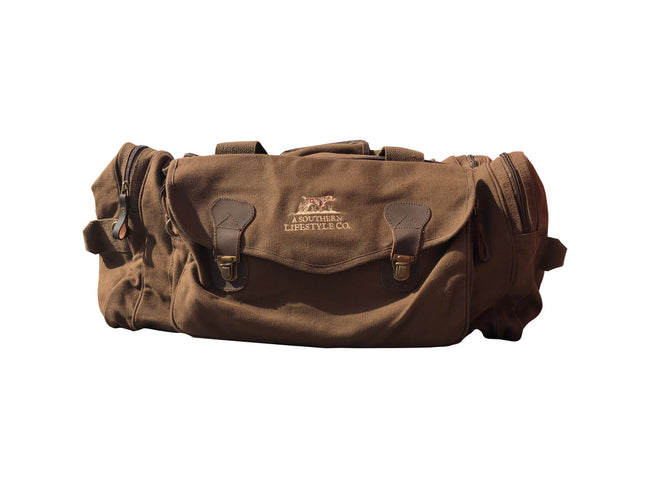 Canvas Utility Duffel Bag - A Southern Lifestyle Co.