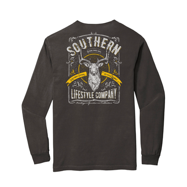 Vintage Sportsman - LS Tee - A Southern Lifestyle Co.