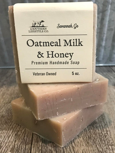 georgia-land-cattle - Oatmeal, Milk, & Honey Soap - Bath & Body