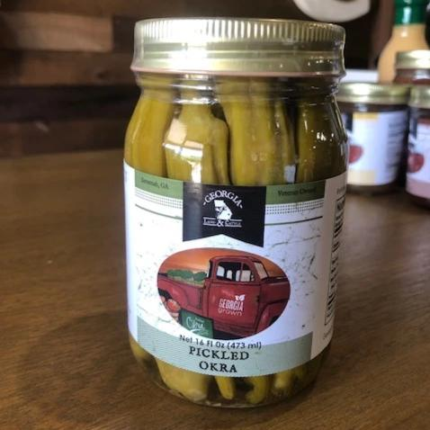 georgia-land-cattle - Pickled Okra - Consumables