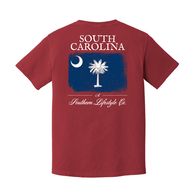 South Carolina Flag Shirt - A Southern Lifestyle Co.