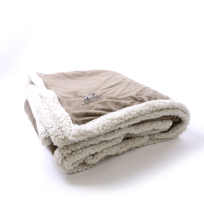 Embroidered Sherpa Blanket - A Southern Lifestyle Co.