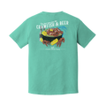Crawfish & Beer Tee - A Southern Lifestyle Co.