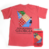 God Blessed Georgia Tee & Koozie - A Southern Lifestyle Co.