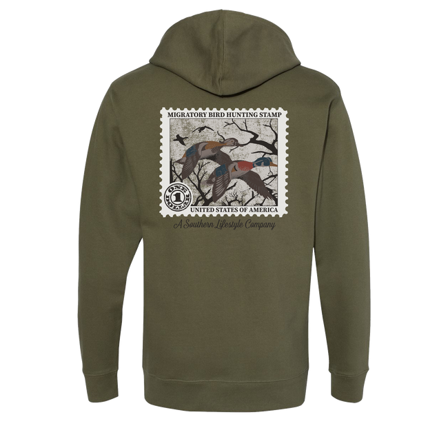 Duck Stamp Hoodie - A Southern Lifestyle Co.
