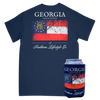 Georgia Proud Tee & Koozie - A Southern Lifestyle Co.