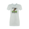 Ladies Flower Dog Tee - A Southern Lifestyle Co.