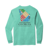 God Blessed Georgia - LS Tee - A Southern Lifestyle Co.