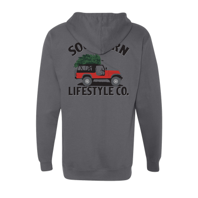 Holiday Cruisin - Hoodie - A Southern Lifestyle Co.