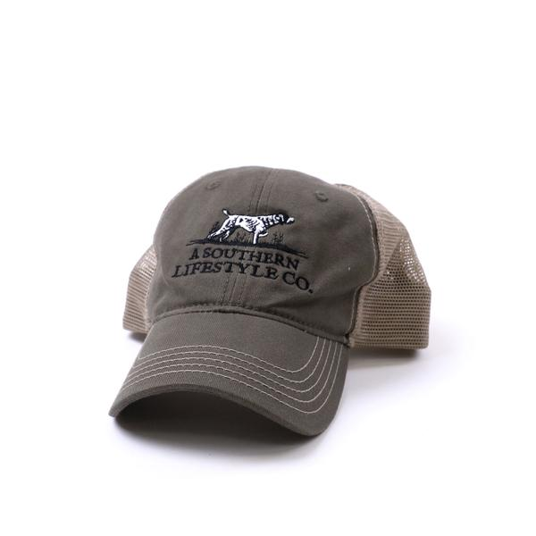 On-Point Trucker Hat OD Green - A Southern Lifestyle Co.