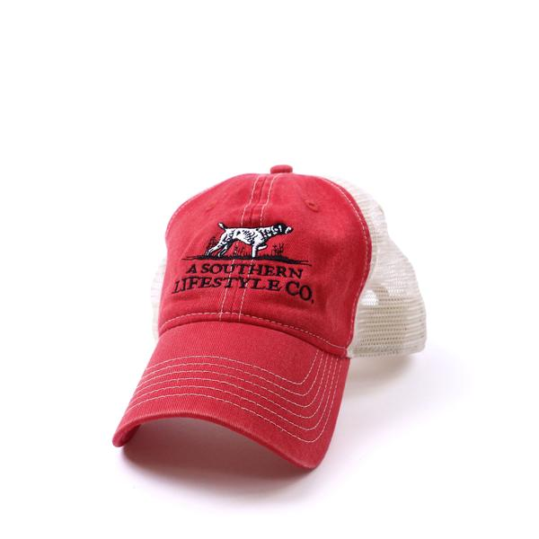 On-Point Trucker Hat Red - A Southern Lifestyle Co.