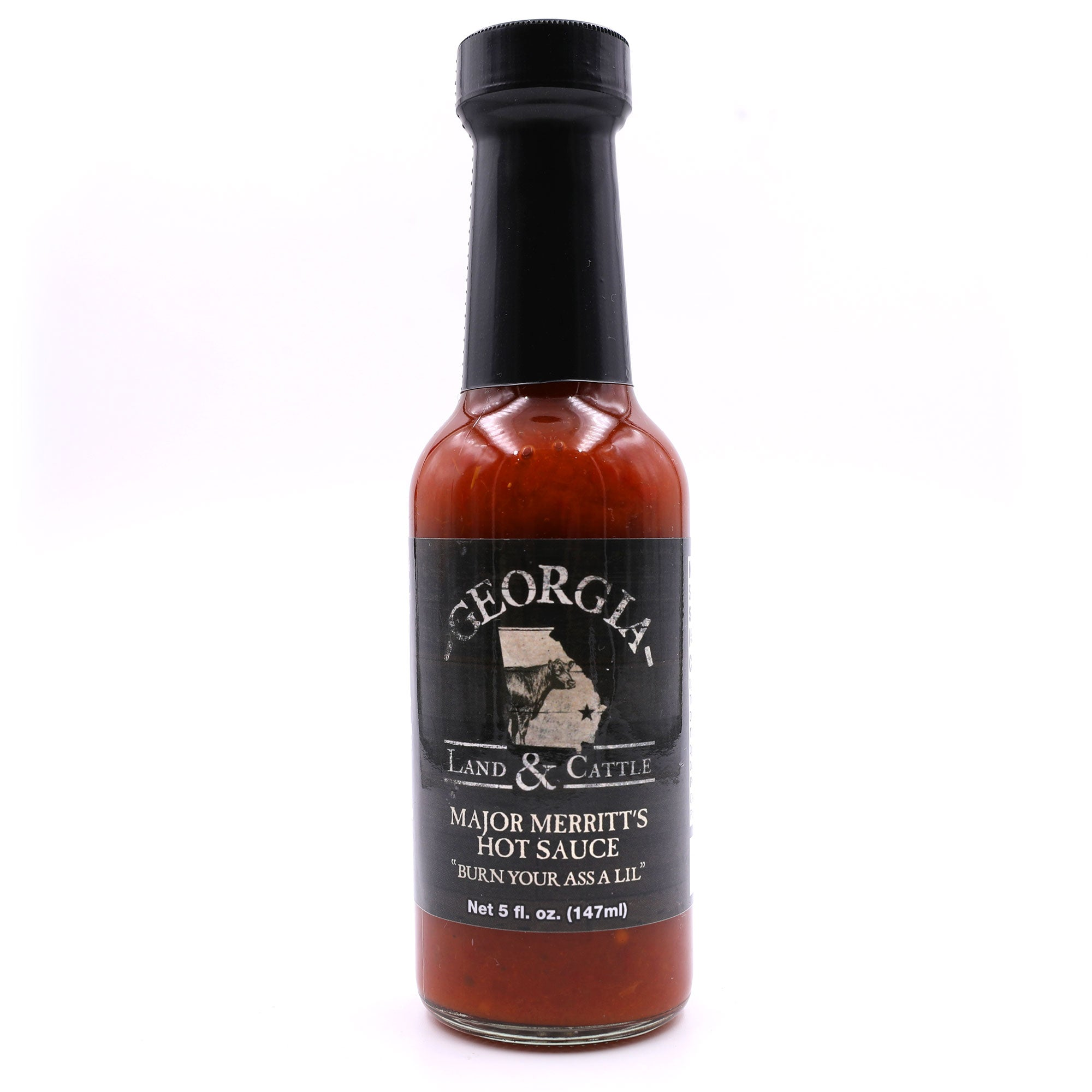 "Major Merritt's ""Burn Your Ass a Lil"" Hot Sauce"