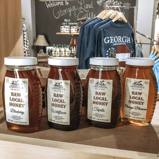 Raw Local Honey - A Southern Lifestyle Co.
