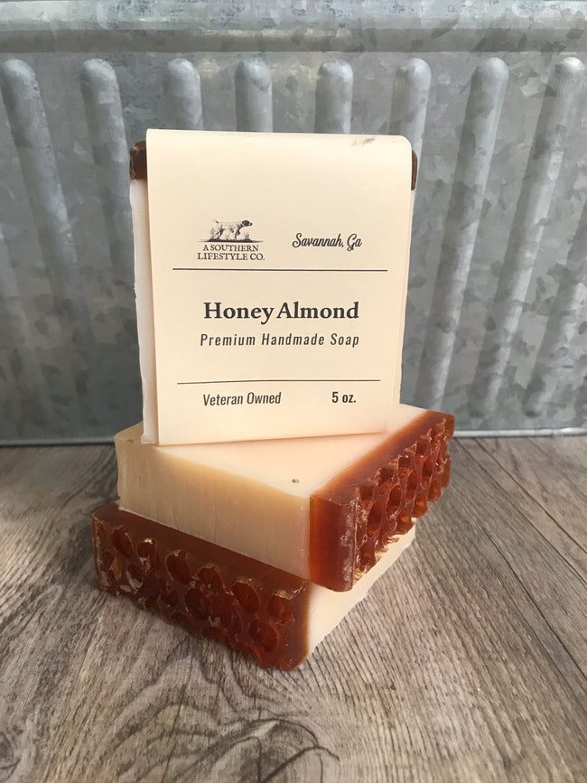 Honey Almond Soap - A Southern Lifestyle Co.