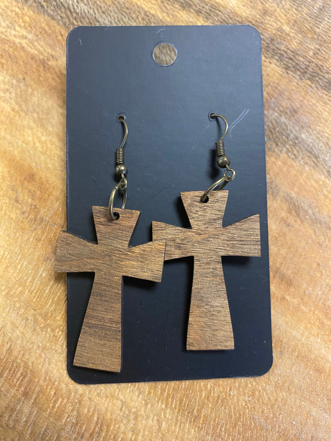 Handmade Wooden Earrings - A Southern Lifestyle Co.