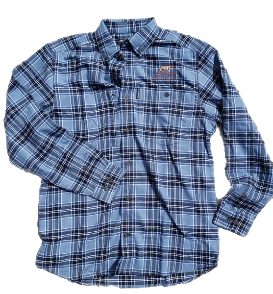 georgia-land-cattle - Boulevard Button Down Flannel - Apparel