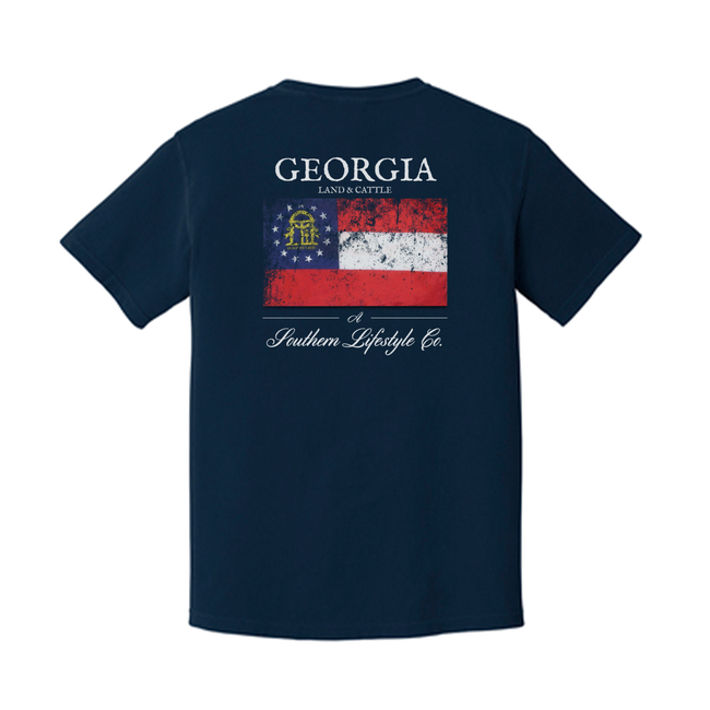 Georgia Proud - Kids Tee - A Southern Lifestyle Co.