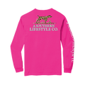 The Leopard Logo LS Tee - A Southern Lifestyle Co.