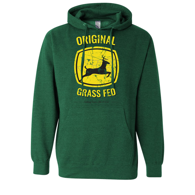 Original Grass Fed - Hoodie - A Southern Lifestyle Co.