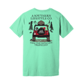 Path Less Traveled Jeep Tee - A Southern Lifestyle Co.